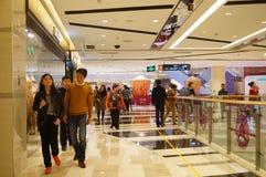Shenzhen, Cina: Centro commerciale di Tianhong Immagine Stock Libera da Diritti
