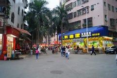 Shenzhen, Cina: dopo gli allievi della scuola Immagine Stock Libera da Diritti