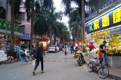 Shenzhen, Cina: dopo gli allievi della scuola Fotografia Stock Libera da Diritti