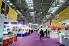 Shenzhen, Cina: Gioielli internazionali dell'oro giusti Immagini Stock Libere da Diritti