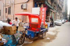 Shenzhen, Cina: il paesaggio del villaggio nella città Immagini Stock