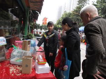 Shenzhen, Cina: mercato dell'animale domestico Immagini Stock Libere da Diritti