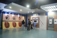 Shenzhen, Cina: mostra dell'immagine 3D Immagine Stock Libera da Diritti