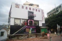 Shenzhen, Cina: negozio di fotografia di nozze Fotografia Stock