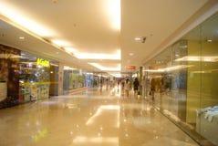 Shenzhen, Cina: Plaza commerciale sotterranea Immagini Stock Libere da Diritti