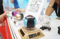 Shenzhen, Cina: realtà virtuale internazionale, mostra olografica di tecnologia Fotografie Stock Libere da Diritti