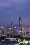 Shenzhen city building Stock Images