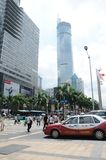 Shenzhen city center Royalty Free Stock Image