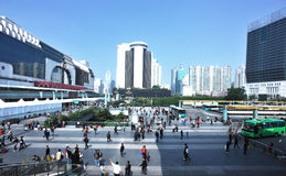shenzhen city railway station Stock Photos
