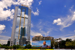Shenzhen city view, China Royalty Free Stock Photo