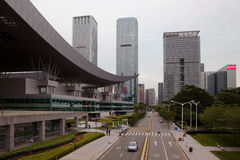 Shenzhen Civic Center complex Royalty Free Stock Photos
