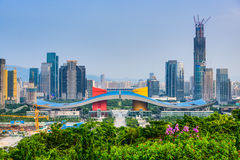 Shenzhen Civic Center District Royalty Free Stock Photo