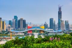 Shenzhen Civic Center District Royalty Free Stock Photo