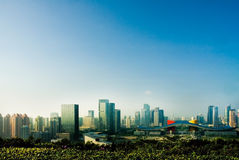 Shenzhen Civic Center district Royalty Free Stock Photography