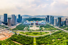 Shenzhen Civic Center Royalty Free Stock Images