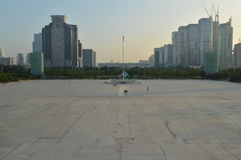 Shenzhen Civic Center Plaza building complex Royalty Free Stock Photography