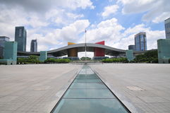 Shenzhen Civic Center Plaza Royalty Free Stock Image