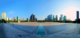 Shenzhen Civic Center Plaza Stock Photos