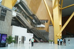 Shenzhen Concert Hall Stock Photography