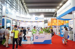 Shenzhen Convention and Exhibition Center: 2015 Southern China International Industrial Automation Exhibition Royalty Free Stock Image