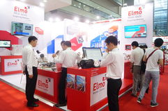 Shenzhen Convention and Exhibition Center: 2015 Southern China International Industrial Automation Exhibition Stock Images
