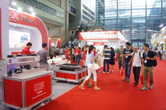 Shenzhen Convention and Exhibition Center: 2015 Southern China International Industrial Automation Exhibition Stock Photos