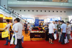 Shenzhen Convention and Exhibition Center: 2015 Southern China International Industrial Automation Exhibition Royalty Free Stock Images