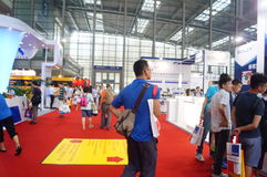 Shenzhen Convention and Exhibition Center: 2015 Southern China International Industrial Automation Exhibition Royalty Free Stock Photos