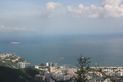 Shenzhen Dapeng Bay beautiful coastal scenery,in China,Asia Royalty Free Stock Photography