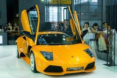 Shenzhen - de auto van Hongkong - van Macao toont Stock Afbeeldingen