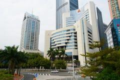 Shenzhen del centro Immagini Stock Libere da Diritti