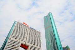 Shenzhen del centro Fotografie Stock Libere da Diritti