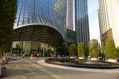 ShenZhen downtown Royalty Free Stock Photo
