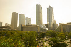 ShenZhen downtown Stock Photo