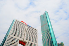 Shenzhen du centre Photos libres de droits