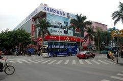 Shenzhen - electronic market Royalty Free Stock Photos