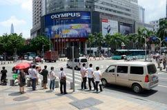 Shenzhen - electronic market Royalty Free Stock Photography