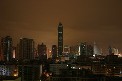 ShenZhen en la noche Fotos de archivo libres de regalías