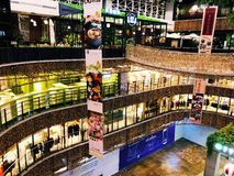 Shenzhen fancy mall interior stock image