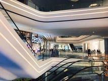 Shenzhen-Fantasiemallinnenraum lizenzfreies stockbild