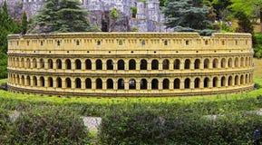 Shenzhen-Fenster der Welt: Replik des colosseum - Italien stockfotografie