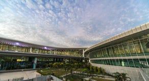 Shenzhen flygplatsyttersida Arkivbilder