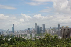 Shenzhen futian Central Business District Stock Photography