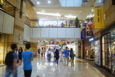 Shenzhen Futian central city shopping center, in  China Royalty Free Stock Photography