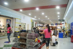 Shenzhen Futian central city shopping center, in  China Stock Image