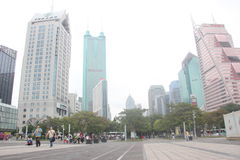 Shenzhen Grand Theatre square Royalty Free Stock Photo