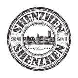 Shenzhen grunge rubber stamp Royalty Free Stock Photo