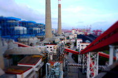Shenzhen, Guangdong, Chinas power industry scene Stock Image