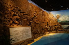 Shenzhen: Guangdong, Chinese unearthed cultural relics exhibition Royalty Free Stock Photography