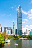 Shenzhen, Guangdong city building Royalty Free Stock Images